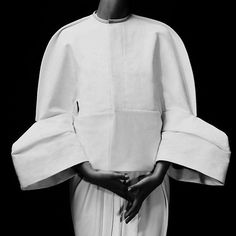 Sleeves  Nina Porter photographed by Andre Yee #blackandwhite #details