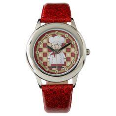Italian Chef Wrist Watch
