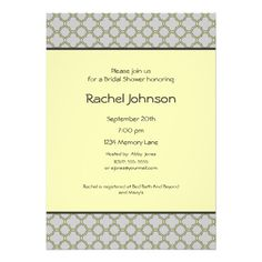 See MoreYellow & Gray Bridal Shower Invitationonline after you search a lot for where to buy