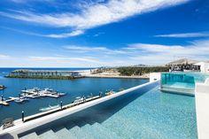 Infinity pool in Los Cabos