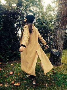 Tras la pista de Paula Echevarría » Extra long coat