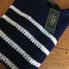 Stripes  for you so cute 💞 Absolutely gorgeous navy and white stripes Lauren Ralph Lauren  Sweaters