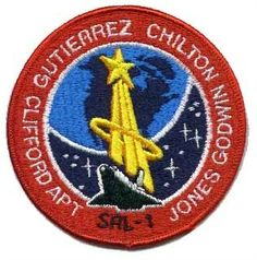 STS59 Mission Patch. 62nd Space Shuttle Mission. 6th Flight of Endeavour. The primary payload was the Space Radar Laboratory-1 (SRL-1), located in the payload bay and operated from the ground. SRL-1 included the Spaceborne Imaging Radar-C, the X-band Synthetic Aperture Radar (SIR-C/X-SAR) and an atmospheric instrument called Measurement of Air Pollution from Satellites (MAPS)