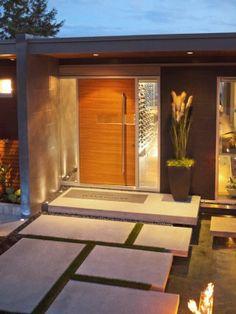 moderne red cedar voordeur - Google zoeken