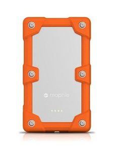 mophie Juice Pack Powerstation Pro 6000mAh Ruggedized External Battery for iPhone, iPad , Smartphones - Orange