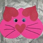 Heart craft for kids part 2