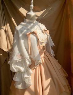 Time Temple -The Night Prayer- Vintage Gothic Lolita Skirt,Lolita Dresses, Pretty Outfits, Pretty Dresses, Beautiful Outfits, Old Fashion Dresses, Fashion Outfits, Victorian Fashion, Vintage Fashion, Gothic Fashion, Mode Lolita