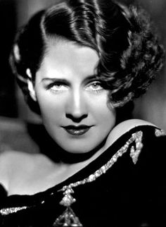 """Norma Shearer, 1932 (1902-1983)  Canadian-American actress. She was one of the most popular actresses in North America from the mid-1920s through the 1930s. Her early films cast her as the girl-next-door, but for most of the Pre-Code film era, she played sexually liberated women in sophisticated contemporary comedies. Later she appeared in historical and period films. She won an Oscar for Best Actress in the 1930 film """"The Divorcee"""". (Source: Wikipedia and IMDb)"""
