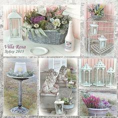 Winter flowers tor terasse or patio, talvikukkia, lyhtyjä terassille tai patiolle