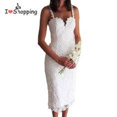 c4e614960 Summer Style White Black Lace Dress V Cami Bodycon Sexy cheap clothes china  vestidos de festa mujer Casual office Midi Dresses-in Dresses from Women's  ...