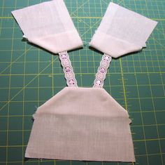 Brambleberry Cottage: Sewing Camisole for American Girl Doll