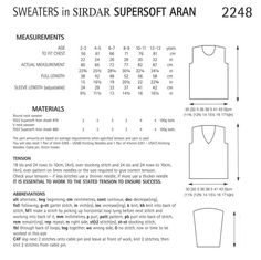 Sirdar_2248_sweatersdata
