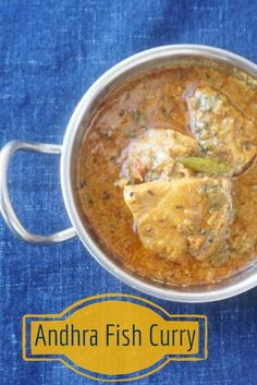Make this Andhra fish curry recipe with frozen or fresh fish and you will never forget the lingering spicy and tangy fish sauce in your life. Indian Fish Recipes, Ethnic Recipes, Chettinad Chicken, Andhra Recipes, South Indian Food, Fish Sauce, Quick Recipes, Cheeseburger Chowder, Kitchens