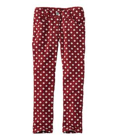Loving this Russet Dot French Terry Pants on #zulily! #zulilyfinds