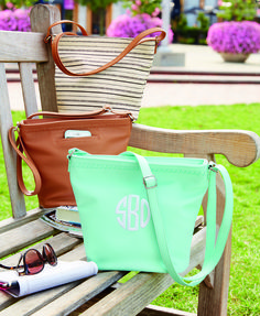 Thirty-one Cafe Crossbody is functional, spacious and stylish! Perfect for spring and summer outings for yourself or as a gift for a birthday or Mother's day! Add a monogram to add a personal touch. |Faux Leather Crossbody Purse|