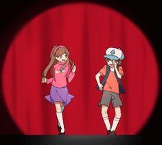 gravity falls gif dance anime - Google Search
