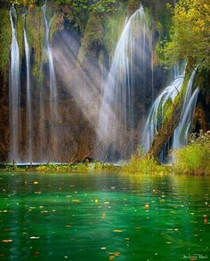 Plitvice Lakes Ntional Park in Croatia