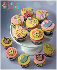 Animal magic - Cake by Dollybird Bakes