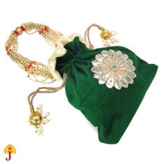 Indian Bridal Purse/Clutch/Handbag/Wedding/Party by Jaipurmahal, $15.00