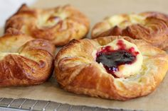 NYT Cooking: Cheese Danish