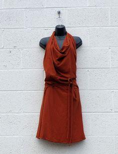 gaia concepts apron wrap dress