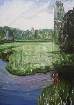 """Mykolé, """"Landscape 4"""", 2012, 162 x 114 cm  Oil, canvas. Contemporary landscape paintings."""