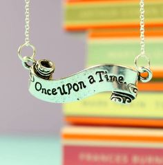 Fable & Black Once Upon A Time Banner Necklace