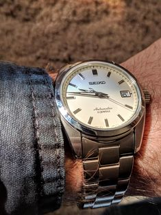 [Seiko SARB035] Just started my collection and I'm blown away at the quality of Seikos. http://ift.tt/2qTiwRs