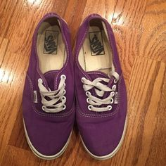 Spotted while shopping on Poshmark: Purple vans!! #poshmark #fashion #shopping #style #Vans #Shoes