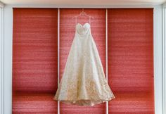gold wedding dress, printed unique bridal gown, from vibrant green contemporary Josephine Butler Parks Center DC Wedding