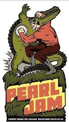 Pearl Jam - Poster Art