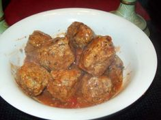 Deer (Meat)balls from Food.com: A delicious recipe for that ground venison in the freezer.