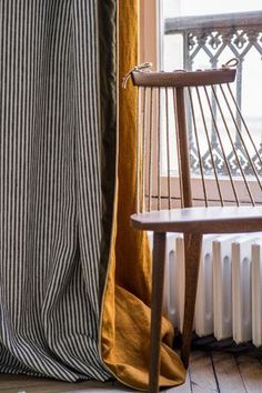 [New] The 10 Best Home Decor (with Pictures) - Pierre Frey linen curtains. Cafe Curtains, Colorful Curtains, Curtains With Blinds, Curtain Fabric, Drapes Curtains, French Curtains, Drapery, Layered Curtains, Pierre Frey Fabric