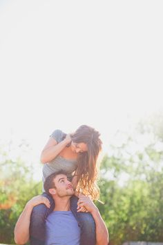 """""""Here get on my shoulders, maybe we'll see the way out of this corn maze once and for all. Special Pictures, Fall Pictures, Cute Couple Pictures, Fall Photos, Couple Ideas, Couple Pics, Couple Shoot, Gopro Photography, Autumn Photography"""