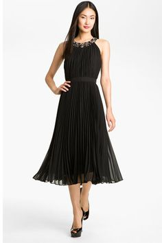 Mother of the Bride Dresses Tea Length Macy's | ... Tea-length Embellished Pleated Chiffon Mother Of The Bride Dresses