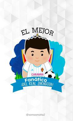 el mejor #Hincha del Real Zaragoza #portadas para móviles  #móvil #carcasas para Celular #somosMotta  #futbolEspañol #españa Ideas Para, Vases, Personalized Cups, Zaragoza, Cover Pages, Get Well Soon, Backgrounds