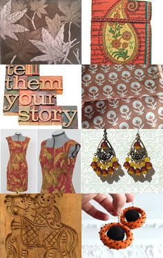 autumn is coming by lechiffrejewels on Etsy--Pinned with TreasuryPin.com
