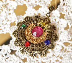 Vintage Sailor Moon Transformation Locket 1 by KukoCreations