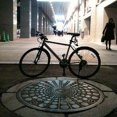 Big Manhole cover