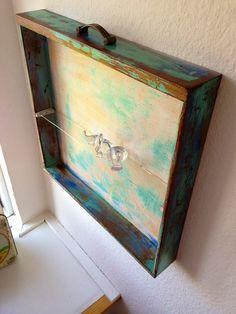 Old drawers - upcycle - redo - DIY - repurpos furniture - paint -