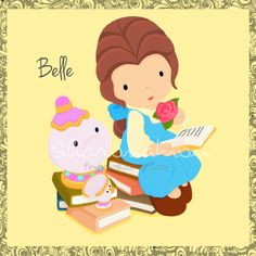 Belle+by+Watchiesaurus.deviantart.com+on+@deviantART
