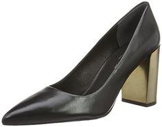 Kenneth Cole New York Women's Margaux Dress Pump, Black/Pewter, 6.5 M US *** More details @