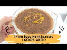 İSTER İNAN İSTER İNANMA 1 GÜNDE 2 KİLO VERDİREN YAĞ YAKICI KÜR / ZAYIFLAMA - YouTube Cellulite Scrub, The Creator, Food And Drink, Make It Yourself, Ethnic Recipes, Amigurumi, Juice