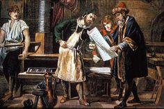 Steve Jobs and Johannes Gutenberg: Apple iPad and Printing Press Johannes Gutenberg, Gabriel Metsu, Dutch Golden Age, Dutch Artists, Printing Press, Renaissance Art, Installation Art, Art Installations, Lovers Art