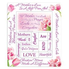 The Mother Who Leads Her Family In Prayer Leads Her Family Everywhere Magnetic Photo Frame