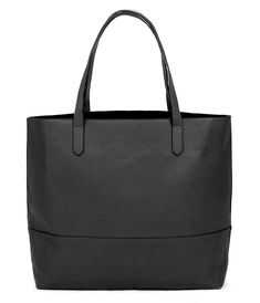 5c17d376acb1 Overbrooke Large Vegan Leather Tote - Womens Slouchy Shoulder Bag with Open  Top - Black - C512JVDX7R1