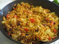 nannykim& recipes: Kazakhstan type spicy rice or Uzbek Palov Rice Recipes, Indian Food Recipes, Vegetarian Recipes, Ethnic Recipes, Kazakhstan Food, Spicy Rice, Sandwiches, Pasta, Gourmet