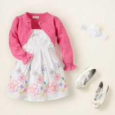 baby girl outfit for spring session
