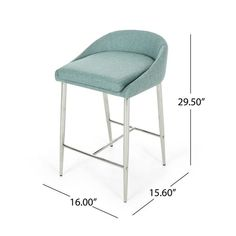 Shop Bandini Modern Upholstered Counter Stools with Chrome Legs (Set of 2) by Christopher Knight Home - On Sale - Overstock - 24151992 - beige + chrome Coastal Furniture, Bar Furniture, Furniture Deals, Modern Furniture, Counter Height Chairs, Counter Bar Stools, Contemporary Bar Stools, Stools With Backs, Condo Living