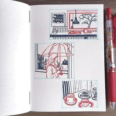 17 Ideas For Drawing Easy Deep Meaning Sketchbook Layout, Arte Sketchbook, Sketchbook Pages, Sketchbook Inspiration, Pretty Art, Cute Art, Stylo Art, Copics, Art Plastique